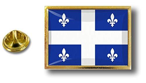 Badge farfalla Canada metallo Pin Perno in clip Quebec Canada con Pin a Rv68qO