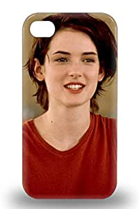 New Arrival Hard 3D PC Case For Iphone 4/4s Winona Ryder American Female Noni Edward Scissorhands Black Swan A Scanner Darkly ( Custom Picture iPhone 6, iPhone 6 PLUS, iPhone 5, iPhone 5S, iPhone 5C, iPhone 4, iPhone 4S,Galaxy S6,Galaxy S5,Galaxy S4,Galaxy S3,Note 3,iPad Mini-Mini 2,iPad Air )