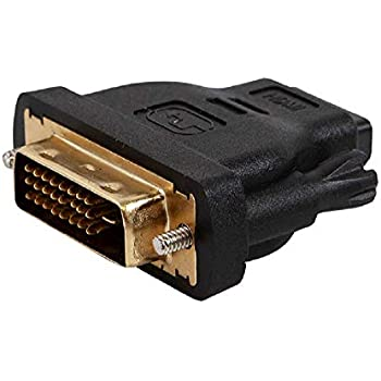 HDMI Female to DVI-D Single Link Female Video Adapter Converter Gold Plated