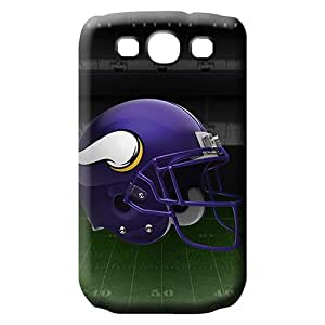 samsung galaxy s3 Ultra dirt-proof colorful cell phone carrying covers minnesota vikings