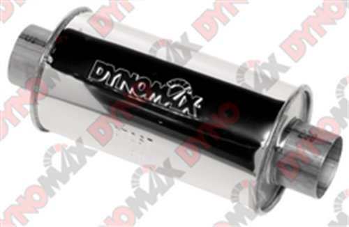 Ford Mustang Dynomax Muffler - Dynomax 17267 Ultra Flo Stainless Steel Muffler