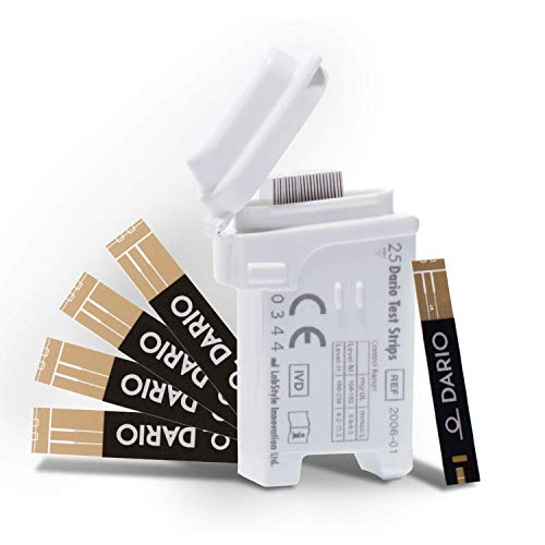 Dario 25 Blood Glucose Test Strips by Dario (Image #1)