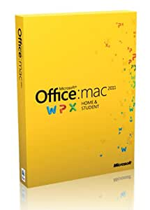 Office Mac Home and Student 2011 - Single License - French