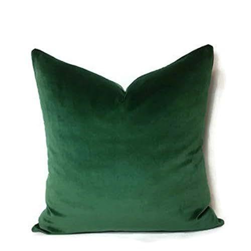Amazon Com 18x18 Quot Luxury Green Moss Emerald Green Velvet