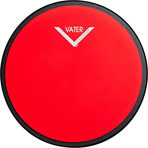 (Vater Single-sided Practice Pad 12 in. Red)