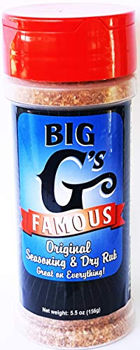 Original Barbecue BBQ Seasoning and Dry Rub, Award Winning, Special Blend of Herbs & Spices, Great on Everything! Grilling, Smoking, Roasting, Cooking, or Baking! By: Big G's Food Service