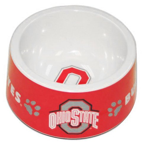 Pets First Collegiate Ohio State University Buckeyes Pet Bow