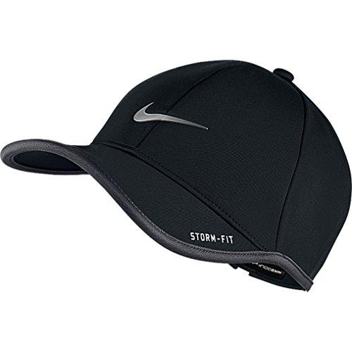 Nike Herren Ultralight Storm-Fit Cap-schwarz/dark grau/metallic silber