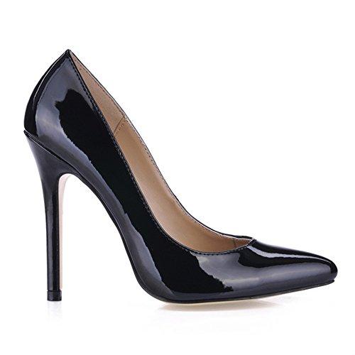 office fait Pearl et chaussures Black sexy chaussures les haut femmes chaussures les pearl grandes black sur femmes de talon Cliquez de SxqIRXtR
