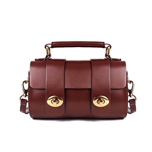 Mini Jelly Handbag for Women Tiny Small Shoulder Crossbody Bags Cute Satchel Purse Brown