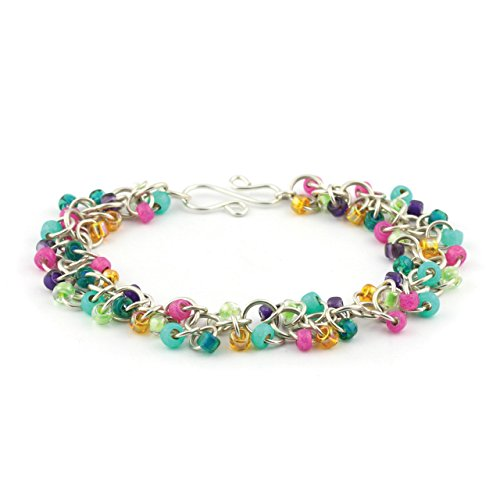 Weave Got Maille Shaggy Loops Chain Maille Bracelet Kit, ...