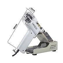 Boshi Electronic Instrument S-997P 220V 100W Electric Vacuum Single-Pump Solder Sucker Desoldering Gun/Pump Solder Remover