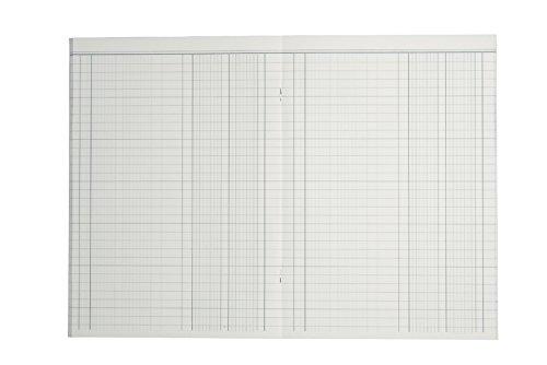 40/fogli 8614511/614/K40,/quaderno per la contabilit/à in formato A4 K/önig /& Ebhardt 2/colonne blu