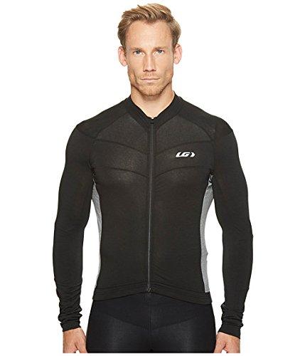 報奨金自動化メタンLouis Garneau(ルイ ガノー) メンズサイクルジャケット Lemmon Long Sleeve Jersey Black/Gray SM S [並行輸入品]