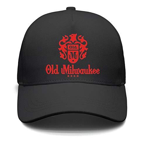 Ruslin Old Milwaukee Beer Women Men Baseball Hats Adjustable Designer caps (Light Old Milwaukee)