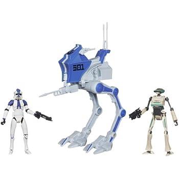 Amazon.com: Star Wars Deluxe Vehicle 501st Legión AT-RT con ...