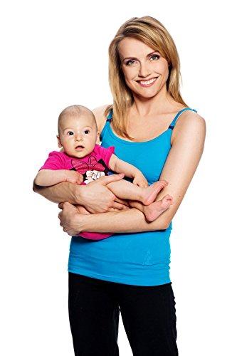 My Tummy Maternité top pour l'allaitement Basic turquoise
