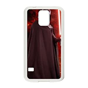 SamSung Galaxy S5 phone cases White Star Wars Darth Vader cell phone cases Beautiful gifts JUW80995347