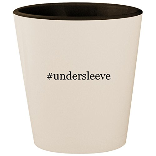 - #undersleeve - Hashtag White Outer & Black Inner Ceramic 1.5oz Shot Glass