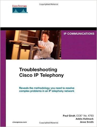 Troubleshooting Cisco IP Telephony (paperback) (Networking