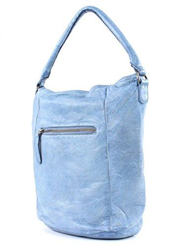 FREDsBRUDER - Bolso al hombro de Piel para mujer Azul