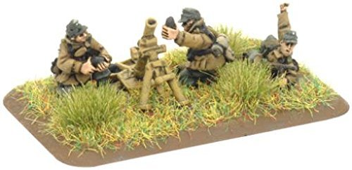 German: Gebirgsjager Mortar Platoon by Battlefront Miniatures