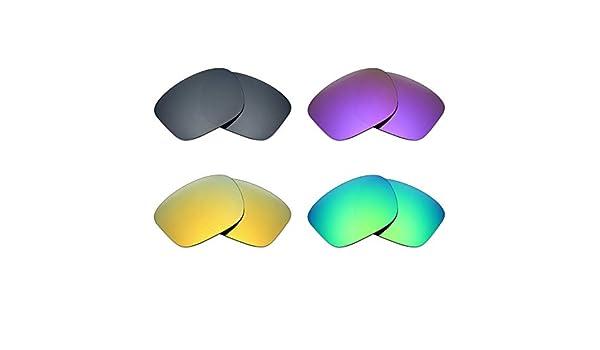 mryok 4 pares de lentes de repuesto para Oakley Sliver – Gafas de ...