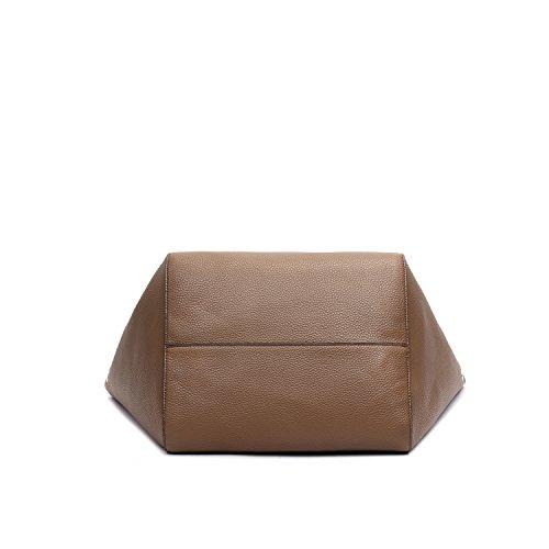 Women Top Tote Bag Bags Handbags Capacity Handle Shoulder Bag Large Clutches Khaki Ladies Leather Shopping Bags SIFINI Bag qqHxrA