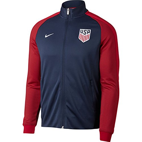 Nike Men's USA 2017 Authentic N98 Track Jacket, XXL (N98 Nike Authentic Usa)