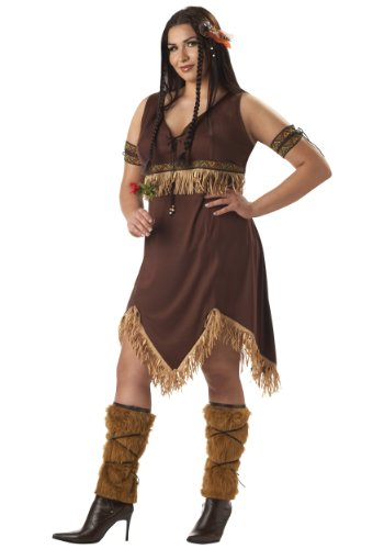 California Costumes Women's  Indian Princess Costume – 2XL (18-20), Brown