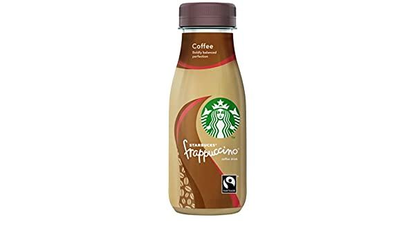 Starbucks - Frappuccino Coffe - Bebida con Café - 250 ml: Amazon.es: Alimentación y bebidas