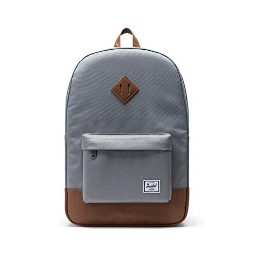 Herschel Heritage Backpack-Grey (Best Herschel Backpack For High School)