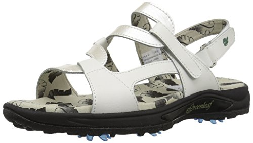 Pictures of Golfstream Women's Spike Sport Sandal Patent G4022 1