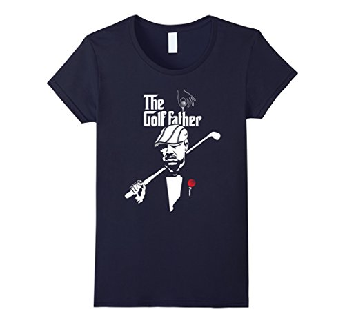 Womens The Golf Father T Shirt - Funny Golf Clubs Medium ...
