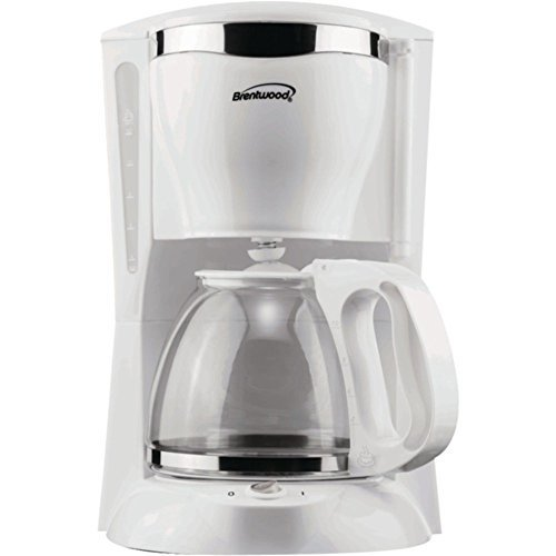 Brentwood TS-216 12-Cup Coffee Maker 900W White Home & Garden