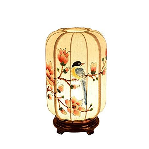 XINCHAOZ Nueva lámpara de Mesa China Dormitorio mesita de Noche ...