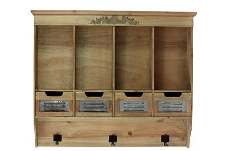 Home Pretty Decor Wooden Urban Cabinet Ornaments Amazon Co Uk