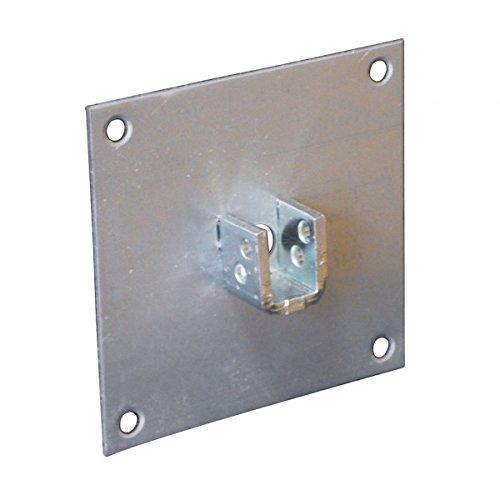Plaque support 100x100 mm pour carré de 13 mm GAVIOTA SIMBAC SPA