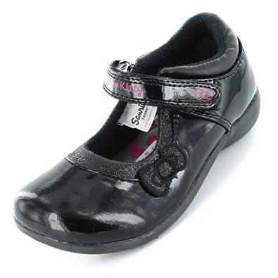 887716c2f Hello Kitty Bohemian Girls Black School Shoe Size 8 Child UK: Amazon ...