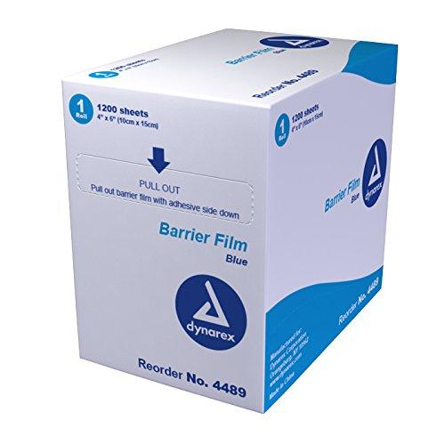 Dynarex Dental Barrier Film, Blue, 8 Count by Dynarex