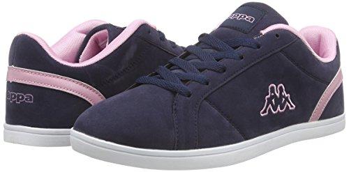 Kappa Damen Rosé 6721 Sneakers Blau TASU Navy fTnfqOx