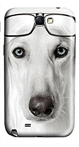 Samsung Galaxy Note II N7100 Cases & Covers - Dog Wearing Glasses PC Custom Soft Case Cover Protector for Samsung Galaxy Note II N7100