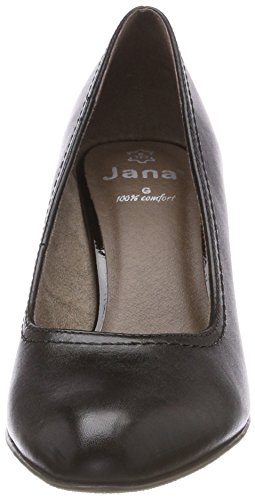 Damen Schwarz 22401 Black Jana Pumps wnSApzx8x