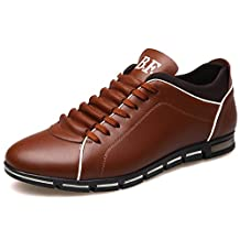 sdferyujaw New New Luxury Brand Men Shoes England Trend Casual Leisure Shoes Leather Shoes Breathable for Men