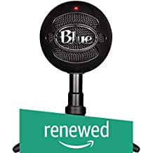 Blue Snowball iCE Condenser Microphone, Cardioid - Black (Renewed)