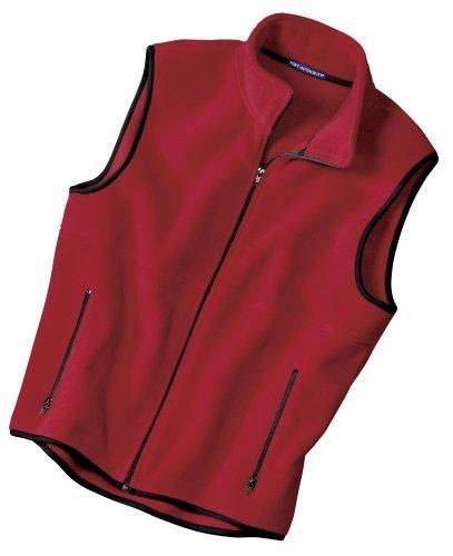 Jp79 Port (Port Authority R-Tek Fleece Vest>4XL Red)