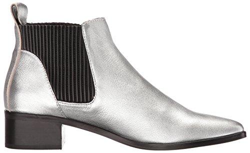Leather Fashion Women's Vita Boot Silver Macie Dolce wAYFH