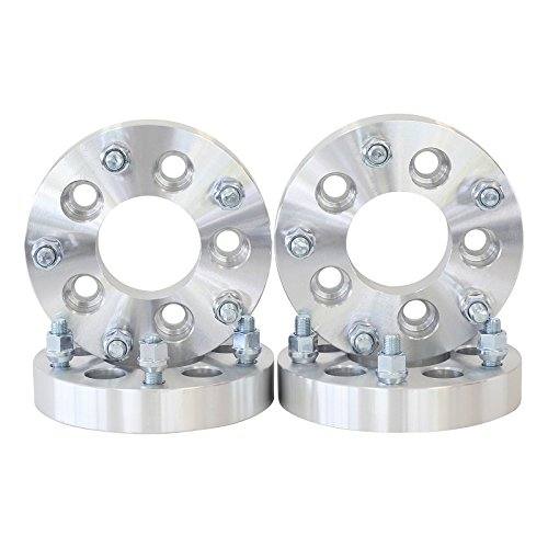 4 QTY Wheel Spacers Adapters 2.5