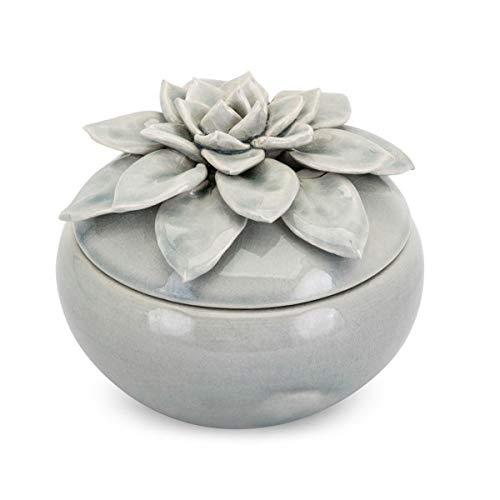 Imax Lidded Box - Cici Large Lidded Flower Box