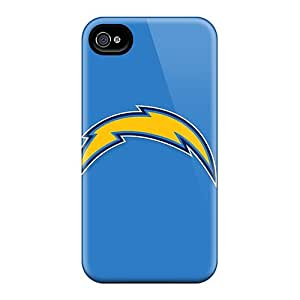 Top Quality Rugged San Diego Chargers Case Cover For Iphone 4/4s